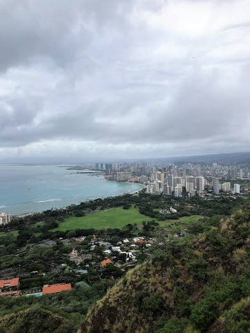 Diamond Head -- view