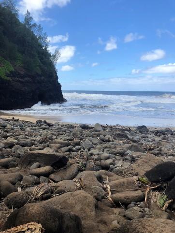 Kalalau Trail -- Hanakapiai Beach