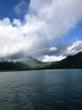 Kualoa Ranch -- rainbow